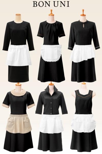 メイド風制服のコーディネート