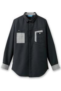長袖シャツ【Unisex】/ブラック